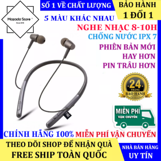 Tai Nghe Bluetooth Wireless H700 Quàng Cổ Siêu Xịn, Pin Trâu - Tai nghe bluetooth mini h700, Tai nghe quàng cổ, Tai nghe dây Bluetooth - tai nghe bluetooth dây đeo cổ thumbnail