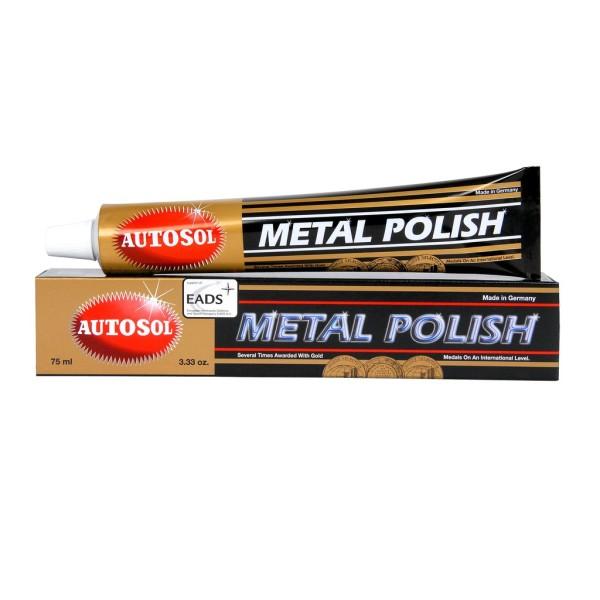 Tuýp lớn 100g(75ml) Autosol Metal Polish - Kem đánh bóng kim loại, sơn inox, nhôm, lư đồng