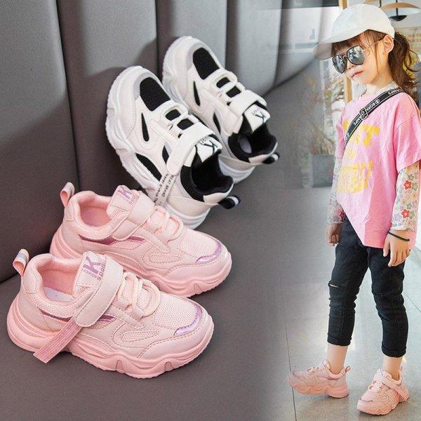 Giày thể thao bé gái và bé trai cao cấp từ 3 - 14 tuổi siêu nhẹ đàn hồi kháng khuẩn kiểu dáng thời trang G25