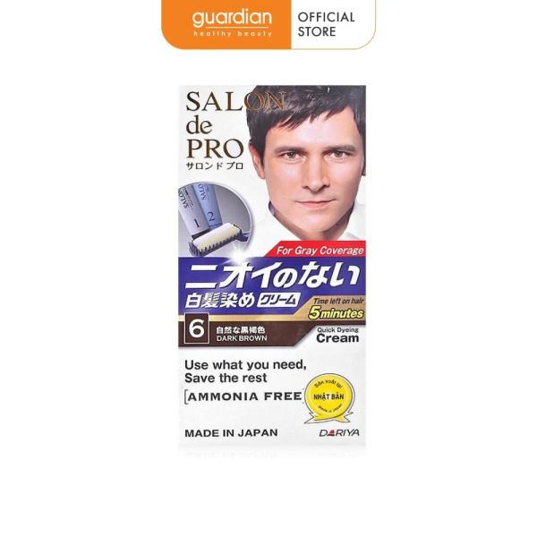 Thuốc nhuộm Tóc Salon De Pro Mca6 80g (Màu nâu đen) giá rẻ