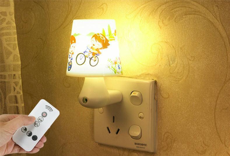 Đèn Ngủ Cảm ứng 9 Cấp độ Chiếu Sáng Có điều Khiển Từ Xa Hình Nấm Tiện Dụng By Cucre Official Store.