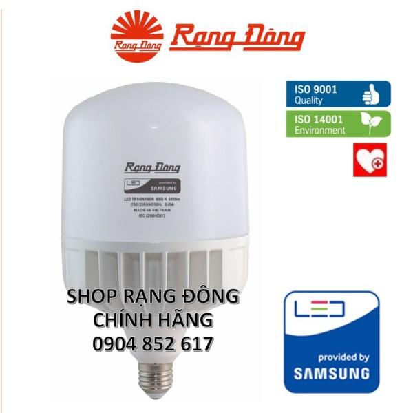 Bóng Đèn Led 60W, Vỏ Nhôm Đúc Siêu Tản Nhiệt, Rạng Đông - Samsung Chipled