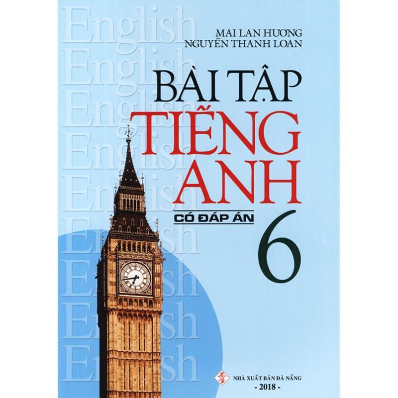 Mua Bài tập tiếng Anh lớp 6 - Có đáp án - Mai Lan Hương
