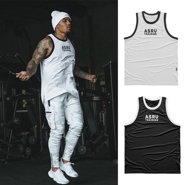 Bộ đồ tập gym nam ASRV training,mẫu quần áo gym nam năng động phong cách