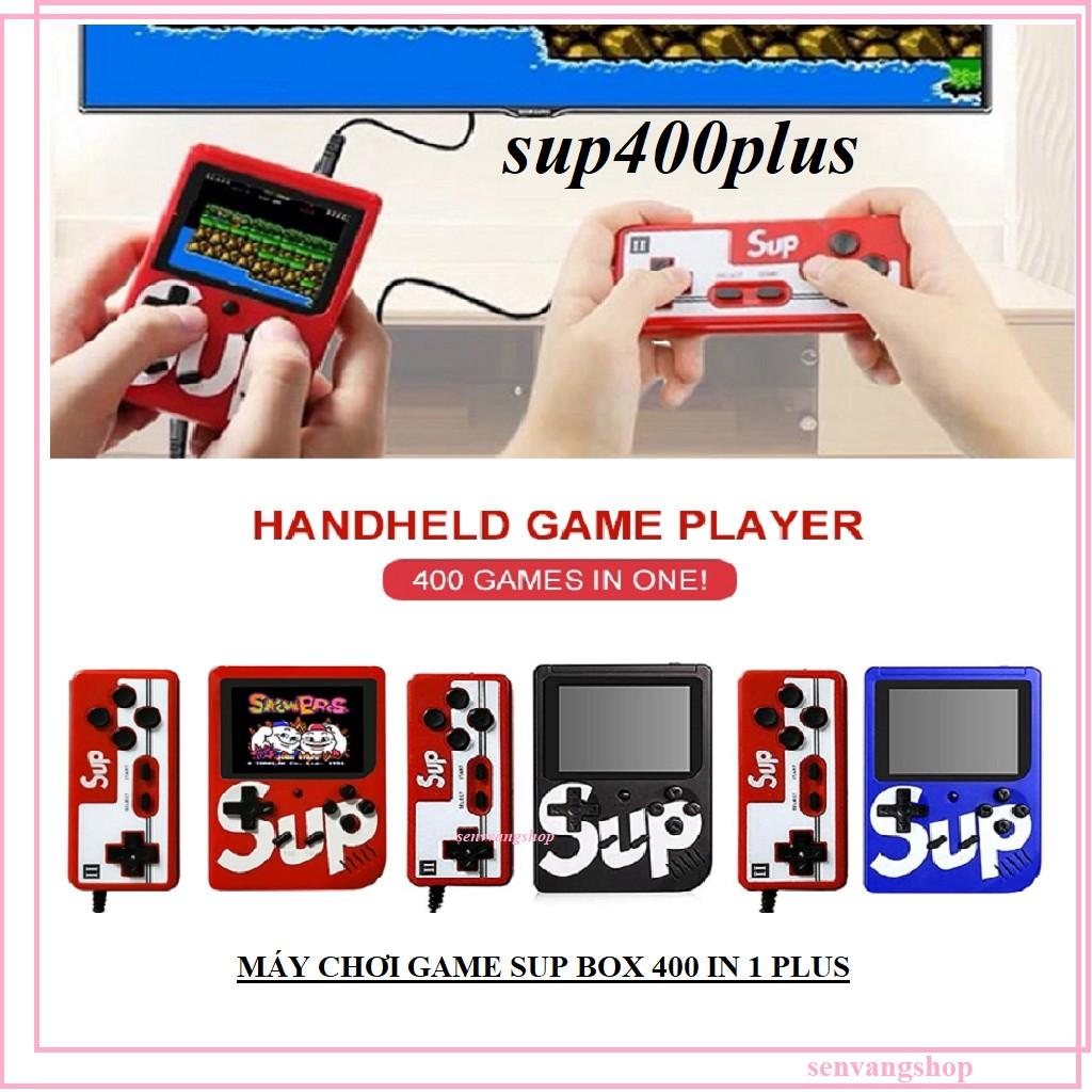 MÁY CHƠI GAME SUP BOX 400/500 IN 1 PLUS TẶNG 1 TAY CẦM HỖ TRỢ 2