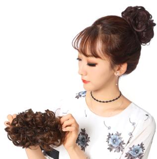 Búi tóc giả - Búi rối trẻ trung 4 màu Hot trend - Búi tóc Hàn Quốc