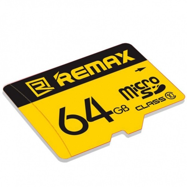 Thẻ nhớ 64GB  Remax Micro SD tốc độ Class 10