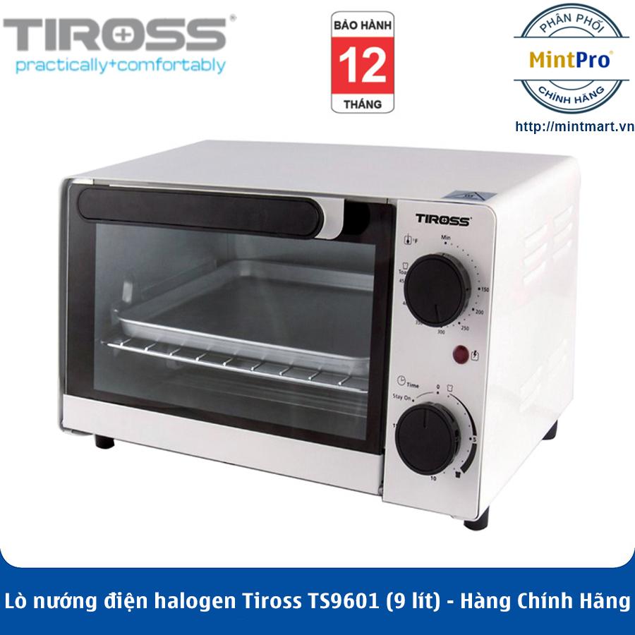Lò nướng điện halogen Tiross TS9601 (9 lít) - Hàng Chính Hãng