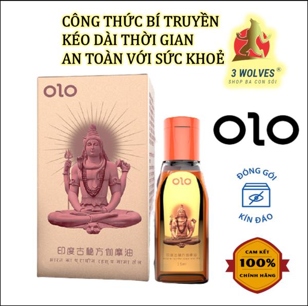 Tinh dầu massage OLO kéo dài thời gian - Hộp 15ml