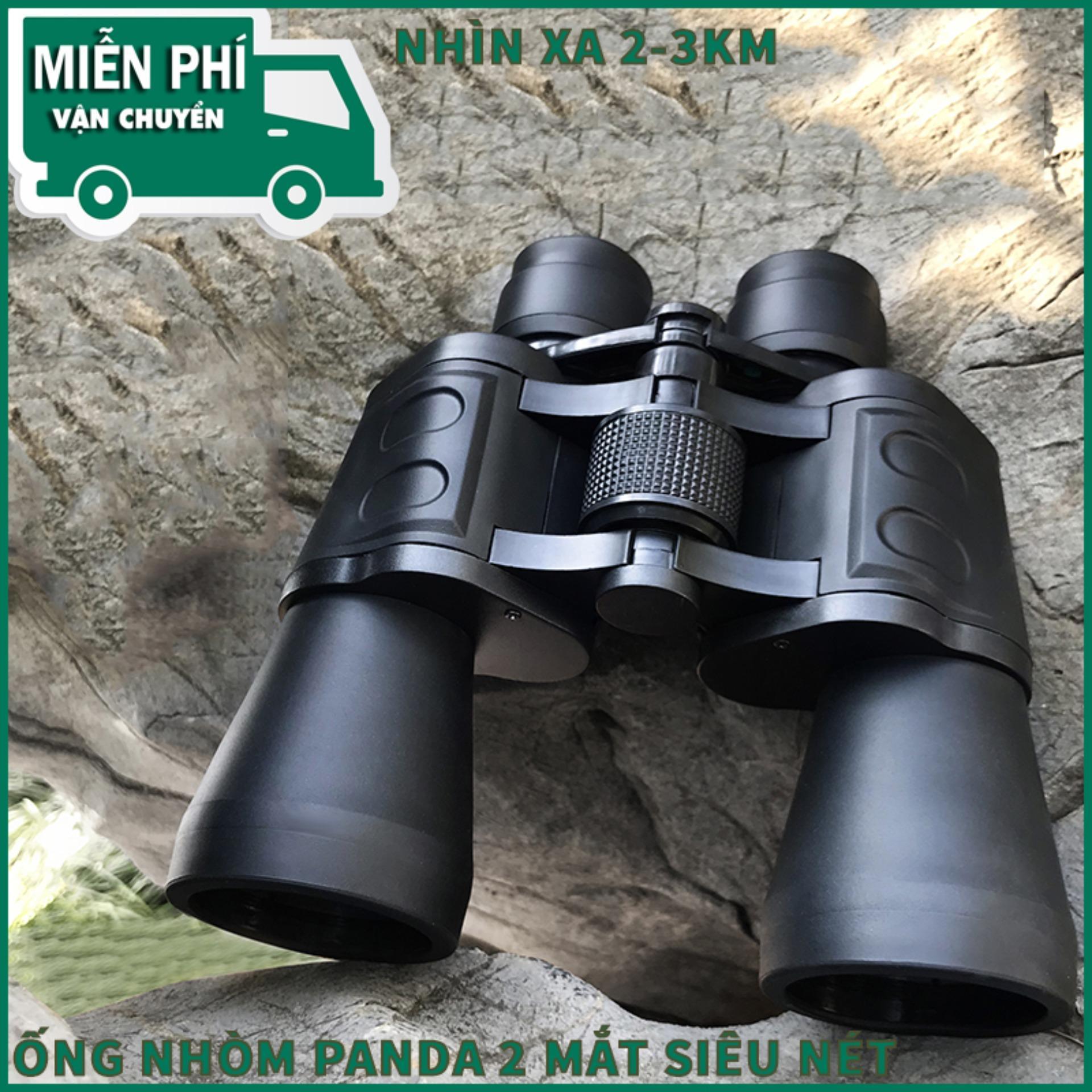 Ong Nhom Sieu Net - Ống Nhòm Panda 2 MẮT Siêu Zoom, Phóng Đại 20 Lần, Xa 1,5 Km, Công Nghệ Lấy Nét Tập Trung - Bảo Hành 1 Đổi 1.