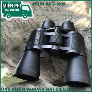 Ong Dom Nhin Dem, ống Nhòm Siêu Nét.Ống Nhòm Panda 2 Mắt Phóng Đại 20 Lần, Xa 1,5 Km Thiết Kế Nhỏ Gọn, Tinh Tế Với Góc Nhìn Cực Rộng. BẢO HÀNH BỞI LUCKY STORE SG thumbnail
