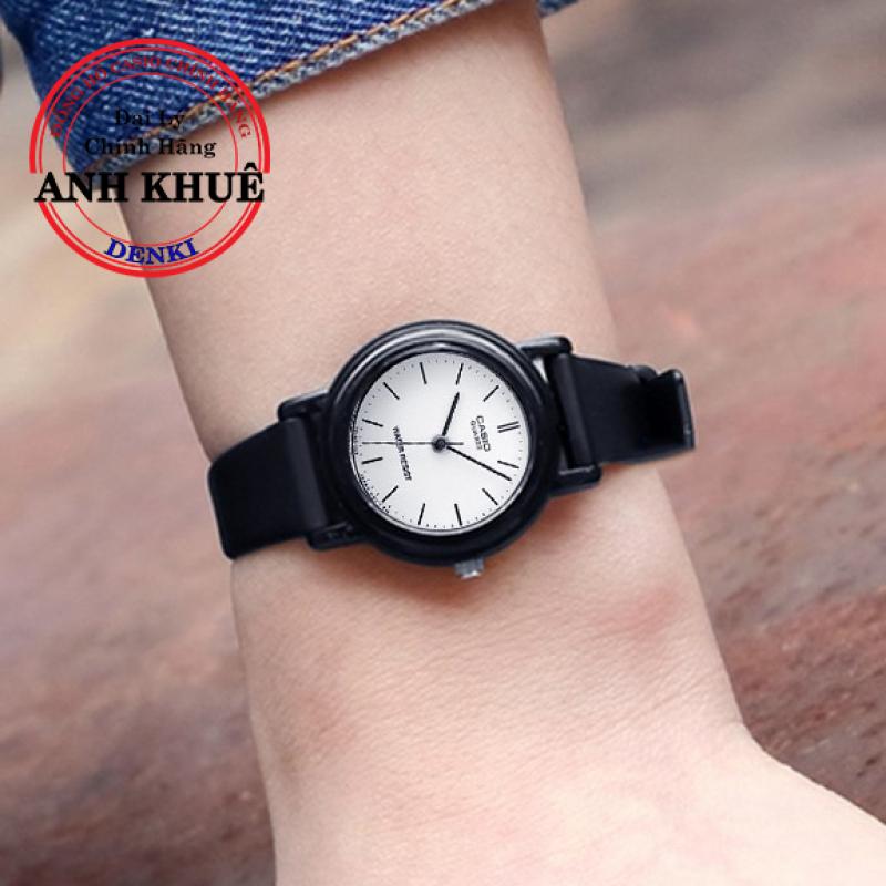 [SALE] Đồng hồ nữ dây nhựa Casio Standard Anh Khuê LQ-139BMV-7ELDF