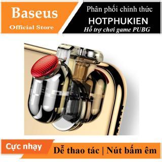 Bộ nút gamepad chơi game PUBG hiệu Baseus Red-Hot Ver 2 cho điện thoại phản ứng cự nhạy chạm là bắn dễ thao tác (Màu ngẫu nhiên) - Phân phối HotPhuKien thumbnail