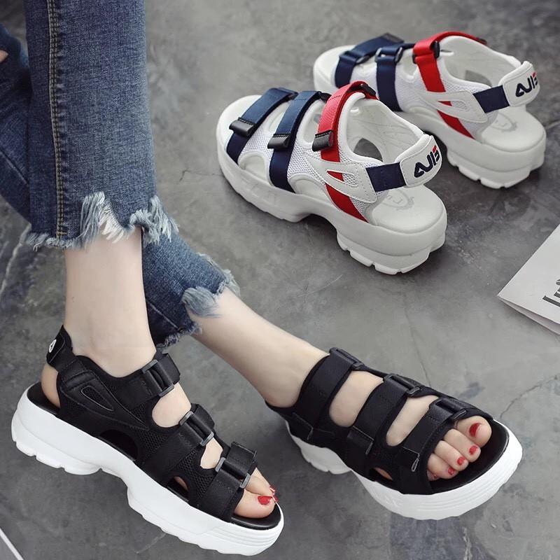 Sandal Nữ 3 Quai Hàn Quốc Gila Bất Ngờ Giảm Giá