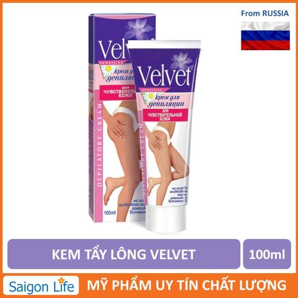 Kem Tẩy Lông Velvet 100ml