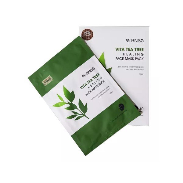Mặt Nạ Tràm Trà Giảm Mụn BNBG Vita Tea Tree Healing Face Mask Pack 30ml