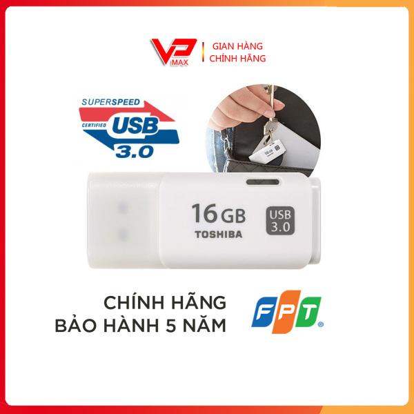 Bảng giá ♨️FREESHIP ♨️ USB Toshiba 16GB 3.0 tốc độ 130MB/s màu trắng bảo hành 5 năm FPT Phong Vũ