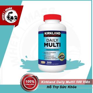[HCM][ Tặng Quà ] Viên Uống Bổ Sung Vitamin Kirkland Daily Multil Vitamin 500 Viên thumbnail