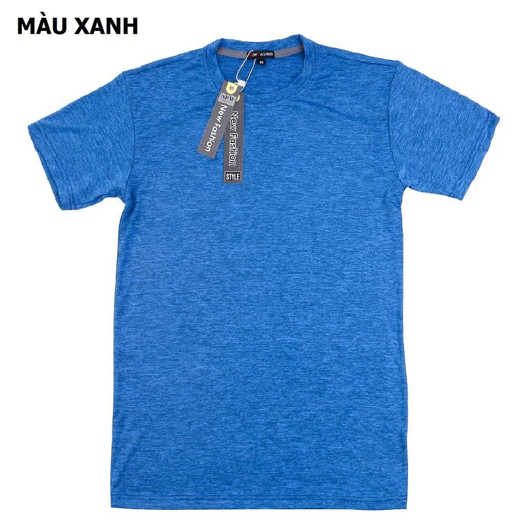 Áo thun nam thể thao hàng VNXK vải dày mịn - Vải Đốm