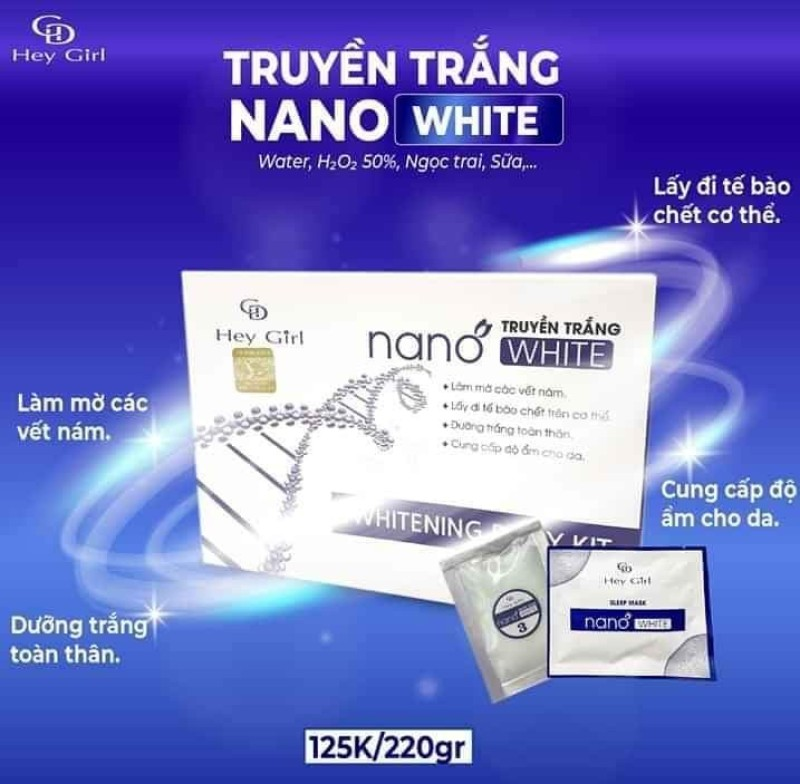 Truyền trắng Nano WHITE