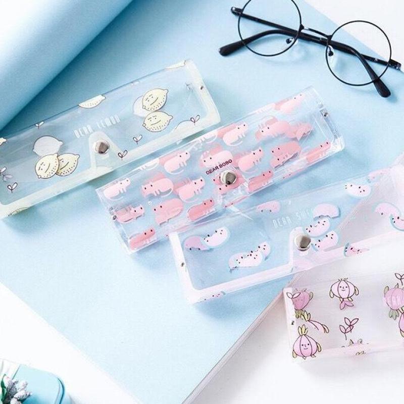 Giá bán [Nguyen Dung Fashion]  Hộp đựng kính nhựa trong suốt tiện dụng