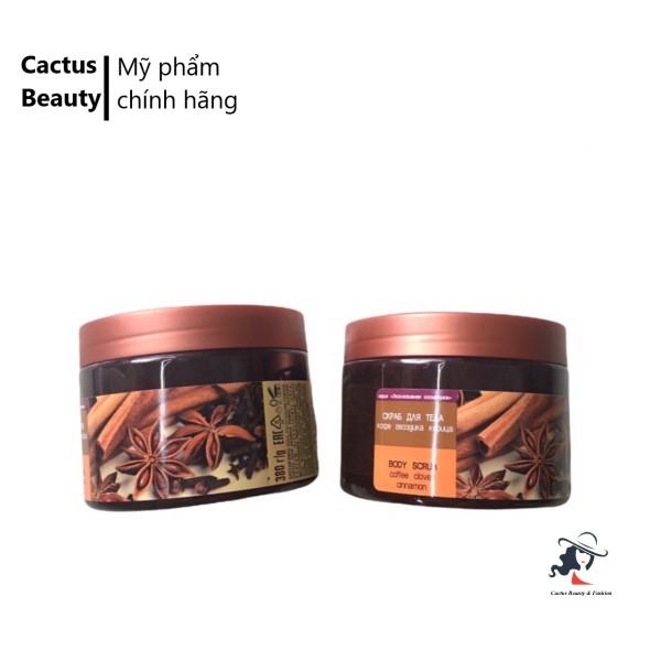 [HCM]Tẩy Tế Bào Chết Body Gel Scrub Coffee Cinnamon Cloves 380g
