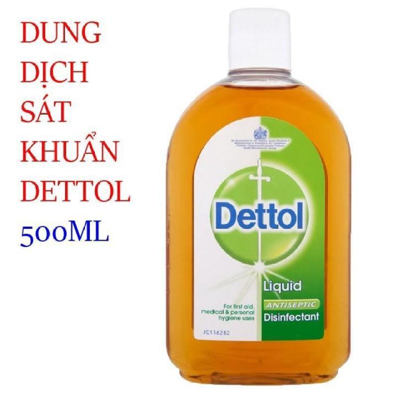 Dung dịch sát khuẩn Dettol 500ml