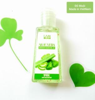 Gel rửa tay khô 3k (60ml) Lamcosmé- ALOEVERA Nha đam thumbnail