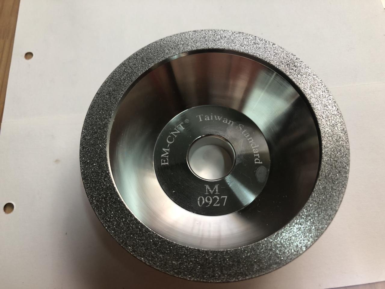 Đá mài chén kim cương dùng để mài hợp kim EM-CNT cao cấp ( hạt #400 )