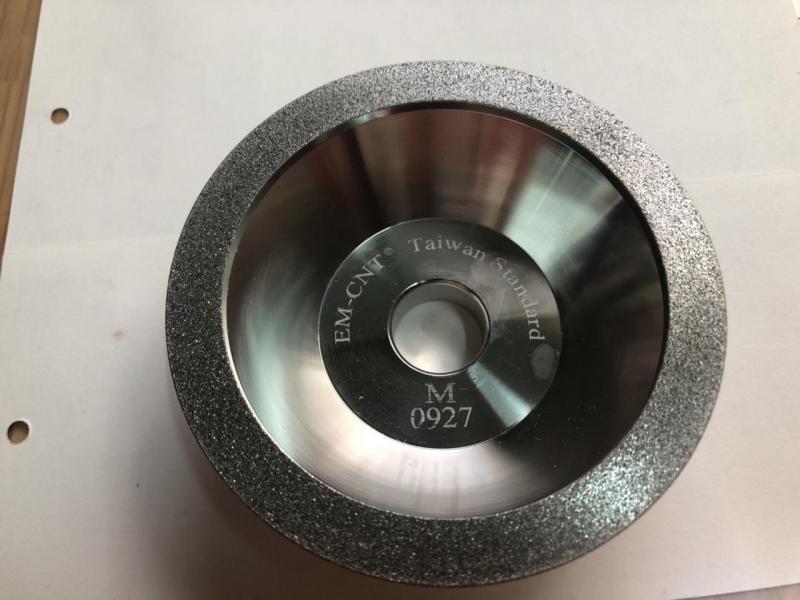Đá mài chén kim cương dùng để mài hợp kim EM-CNT cao cấp ( hạt #150 )