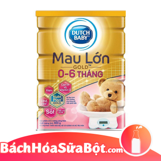 Sữa bột Dutch baby Gold Mau lớn 900g thumbnail