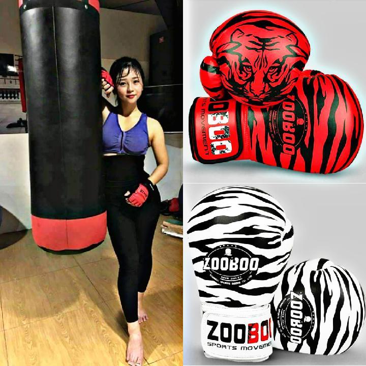 Combo 02 Vỏ Bao Cát Võ Thuật - Găng Tay Boxing ZooBoo Chỉ 385K Nhật Bản