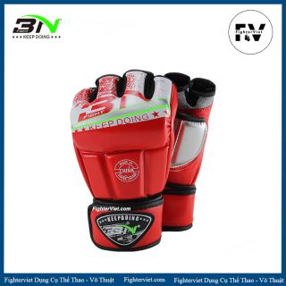 Găng tay hở ngón BN Găng MMA cao cấp - MMA Gloves thumbnail