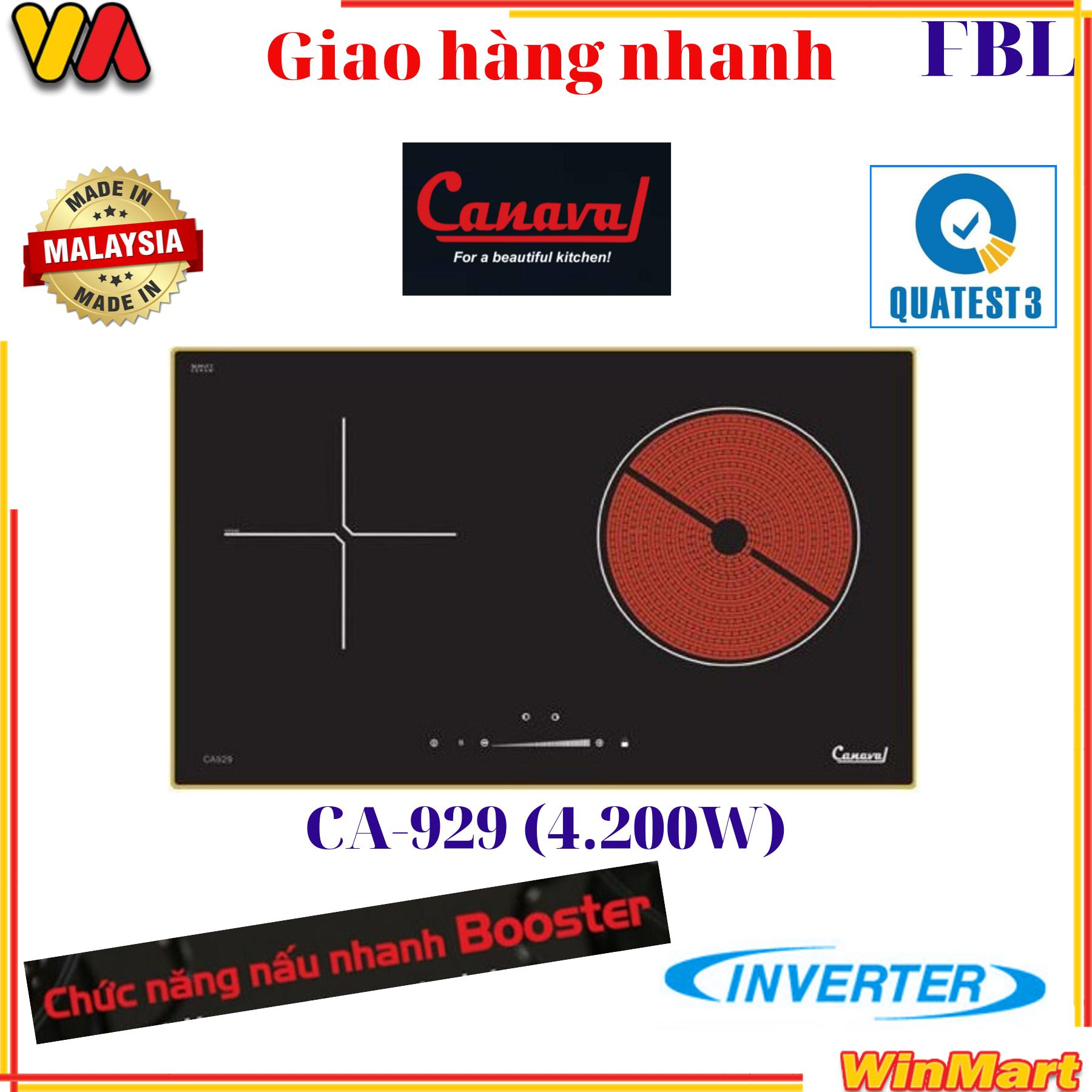 Bếp điện từ hồng ngoại CANAVAL CA-929 Malaysia (4200W)