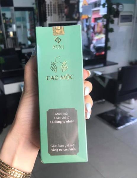 Cao tan mỡ Cao Mộc ZN tặng kèm thước dây( Cao lá rừng mẫu mới ) [CAM KẾT CHÍNH HÃNG]
