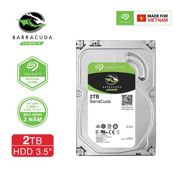 Bảng giá Ổ cứng HDD 3.5 PC SEAGATE BarraCuda 2TB SATA 7200RPM 256MB - ST2000DM008 Phong Vũ