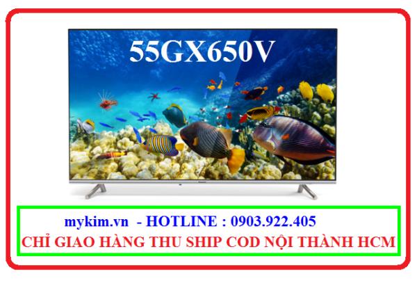 Bảng giá Smart Tivi 4K Panasonic 55 Inch TH-55GX650V CHÍNH HÃNG