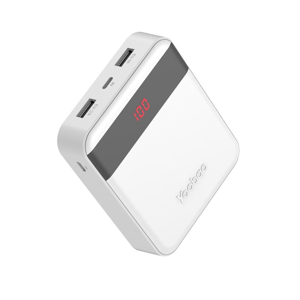 Giá Pin sạc dự phòng Yoobao  M4Pro Portable 10000mAh có màn hình led hiển thị - hàng chính hãng
