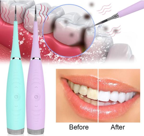 Máy lấy cao răng cầm tay mini sử dụng sạc 3 chế độ rung loại sạch mảng bám, cao răng,vết ố cứng đầu giá rẻ