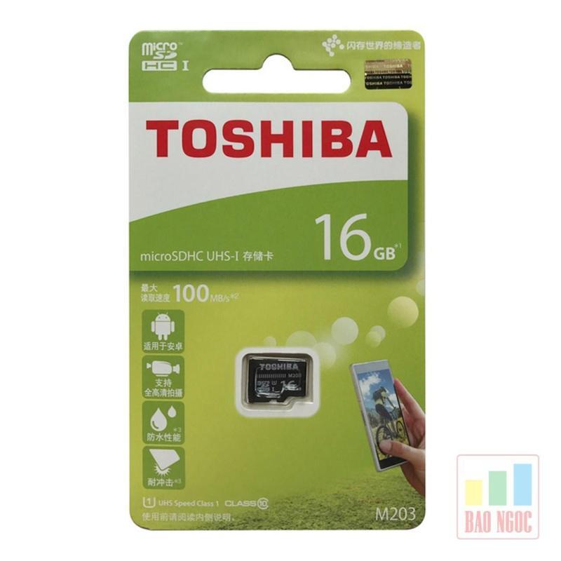 Thẻ nhớ 16GB Class 10 Toshiba tốc độ 100 Mb/s
