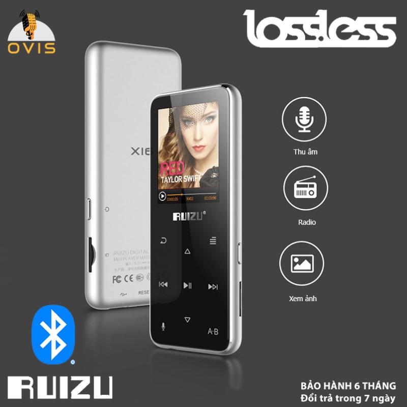 [BH 1 ĐỔI 1] Máy Nghe Nhạc Bluetooth Ruizu X16 Chất Lượng Lossless (8GB- Có Loa Ngoài)