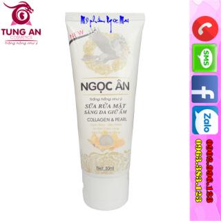 Sữa rửa mặt Ngọc Ân hoa anh đào sáng da giữ ẩm giảm mụn hết nhờn se khít lỗ chân lông (50ml) thumbnail