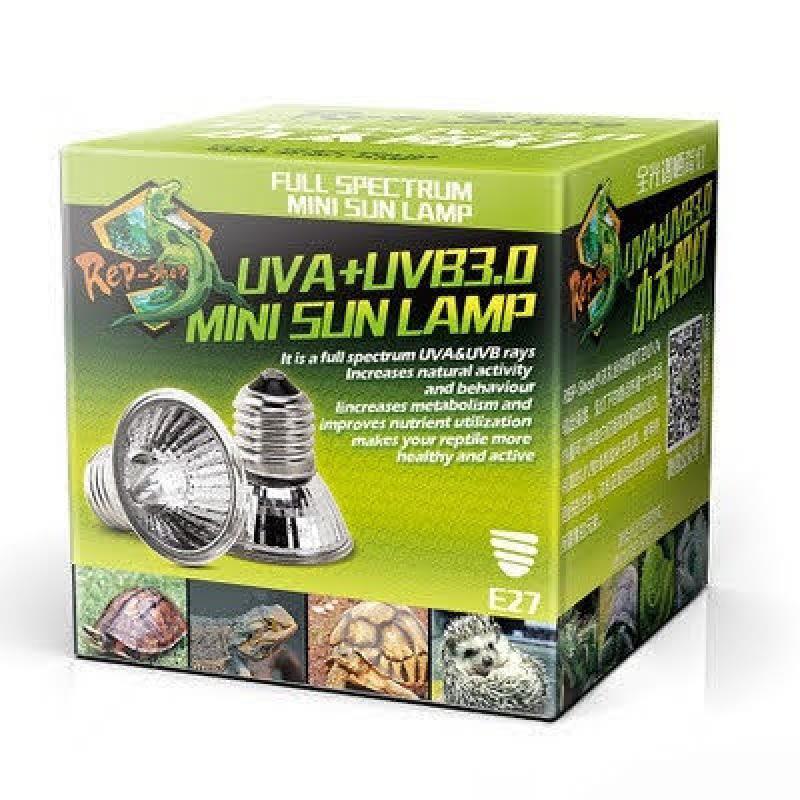 Đèn sưởi UVA + UVB 3.0 cho bò sát thú cưng Repshop