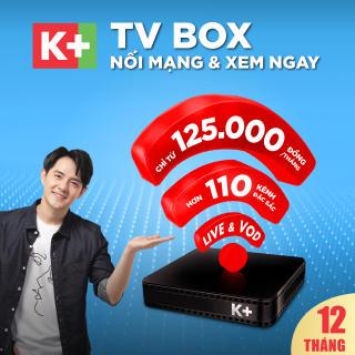 Trọn bộ thiết bị và 12 tháng thuê bao TV BOX