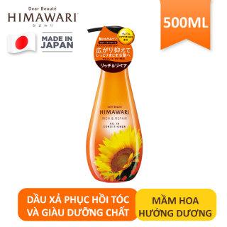 Dầu xả phục hồi tóc và giàu dưỡng chất Himawari 500ml chính hãng thumbnail