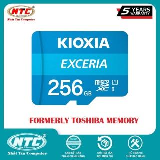 [HCM]Thẻ nhớ MicroSDXC Kioxia Exceria 256GB UHS-I U1 100MB s (Xanh) - Formerly Toshiba Memory - Nhất Tín Computer thumbnail
