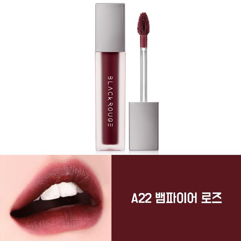 Son Black Rouge Air Fit Velvet Tint Ver.4 Bad Rose #A22 Đỏ nâu Maple ánh tím tốt nhất
