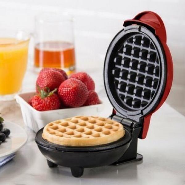 Máy nướng bánh đa năng Dash màu đỏ, Công suất 600w, Bảo hành 1 đổi 1 nếu lỗi