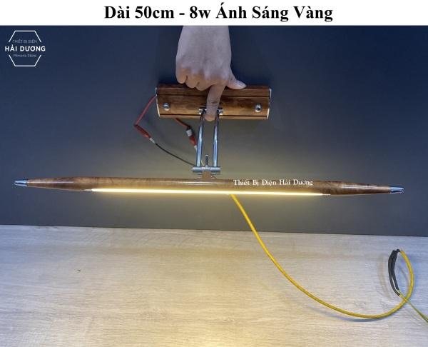 Đèn soi tranh - Đèn rọi gương Led Đèn soi gương cổ điển STN 8w / 20w Ánh sáng vàng - Điều chỉnh được góc chiếu