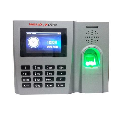 Giá Máy chấm công vân tay và thẻ từ  Ronal Jack X628Plus